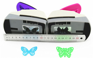 Image 5 - Super Large Size Shaper Punch Craft Scrapbooking butterfly Paper Puncher large Craft Punch DIY children toys