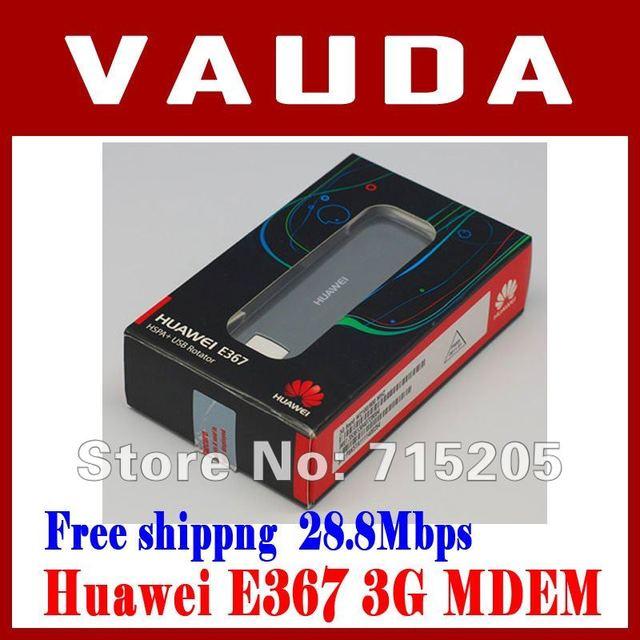 new HuaWei E367 3G modem max 28.8Mbps wireless network card unlocked USB2.0 interface