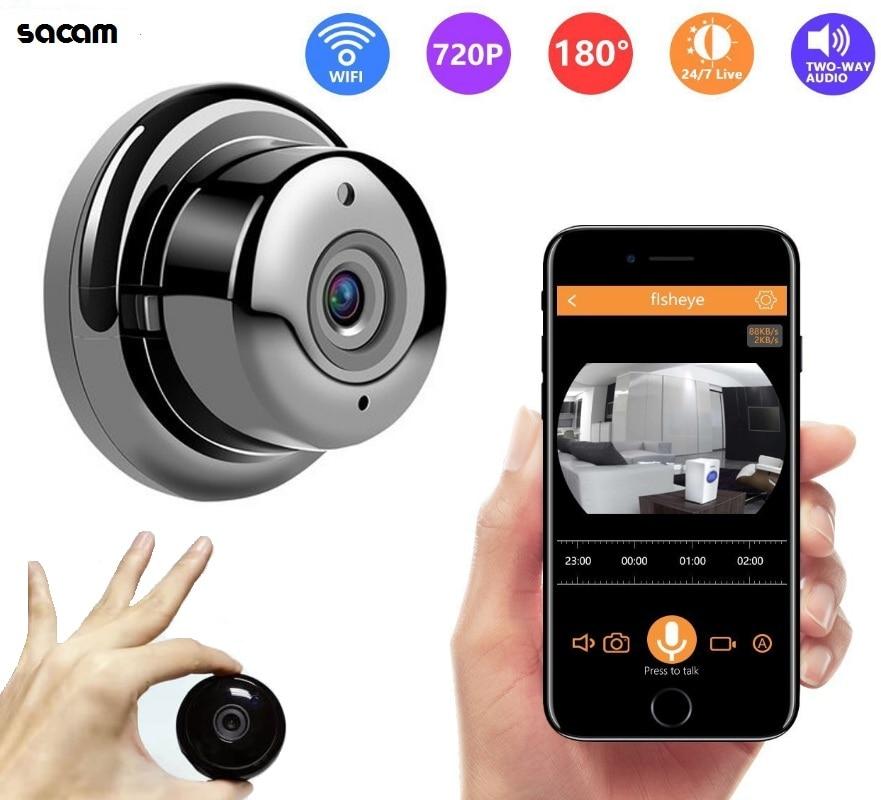 Wireless WIFI Mini IP Camera HD 1080P Home Smart Night Vision Security Camera