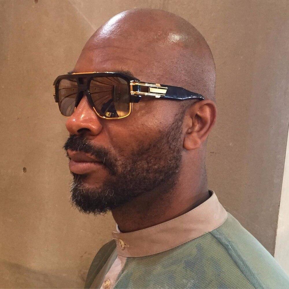 2017 Marca Designer UV400 Espelho Quadrado Oversize Óculos De Sol Das  Mulheres Dos Homens Do Vintage Lente Clara Transparente Óculos de Sol  Masculinos do ... 0b234ad044