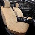 Asiento de coche de la felpa cubre tamaño universal para un asiento delantero cubre accesorios de automóviles 2017 Cabido La Mayoría de Coches, camión, Suv, o Camioneta