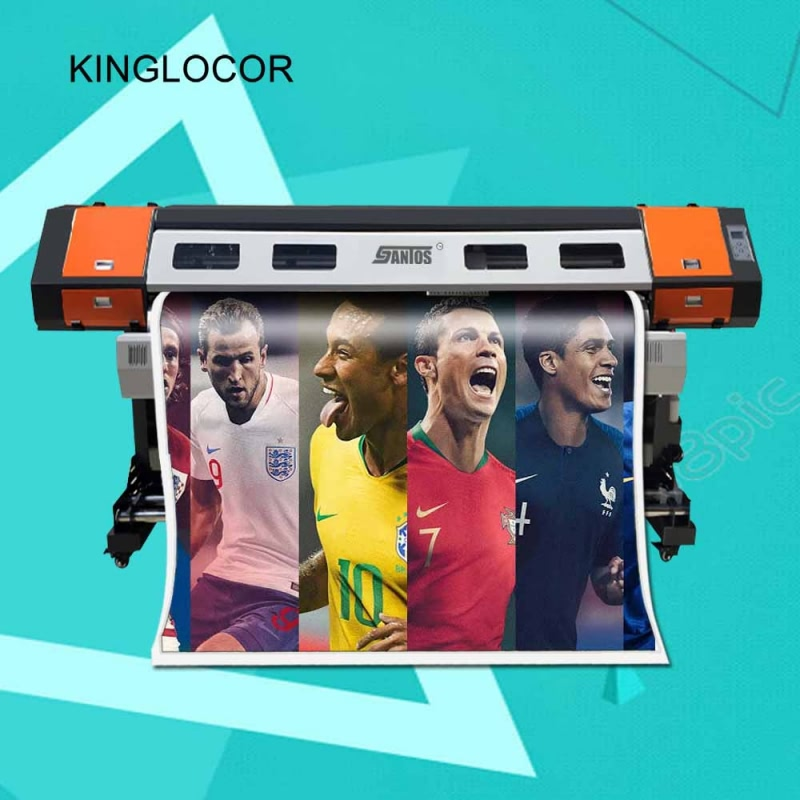Cheap Price 1.8m 1800mm Wide Format Vinyl Printer Sticker Printer Banner Sticker with XP600 Print Head