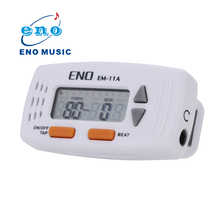 New Arrival ENO Mini Clip on 2 in 1 font b Electronic b font Metronome Clock