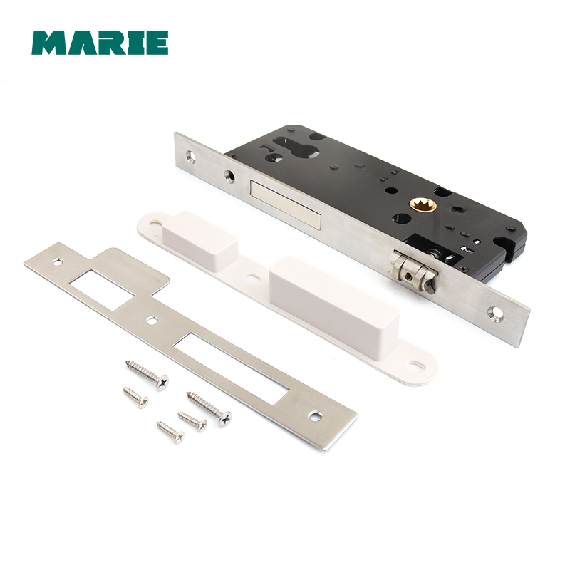 ML002 Top Designed European Narrow Mortise Locks Split Door Lock Body 45x85mm 50x85mm