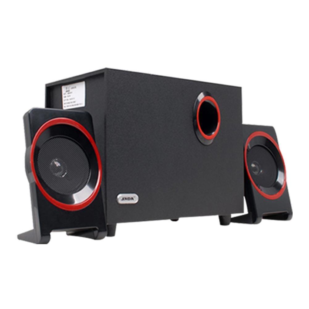 SADA High Quality Wood USB Speaker 2.1 For Computer Smartphone 3.5 mm Stereo Bass Speakers Hi Fi Boxes For Laptop Desktop PC