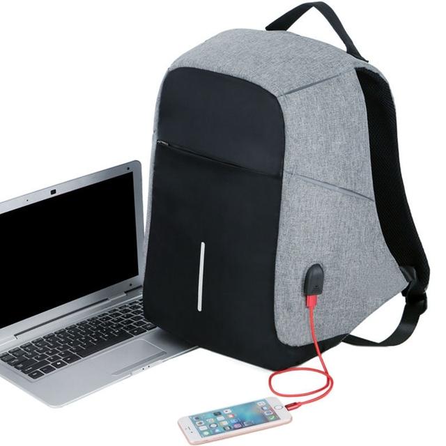 Mochila Impermeable con USB