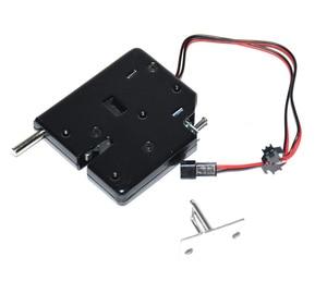 Image 2 - 5 pcs dc 12 v 2a 솔레노이드 전기 제어 캐비닛 서랍 로커 잠금 신호 피드백 및 자동 개방 pudsh push 디자인