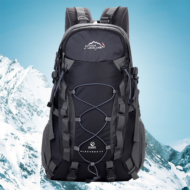 Durable Outdoor Sports Rucksack Trekking Climbing Equipment Cycling Camping Hiking Backpack Sports Bag Travel Backpack 40L 40l outdoor hiking backpack 2l personal waist bag for travel climbing camping