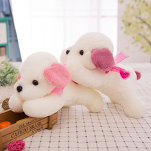 Doll Car Seat Cushion Cotton 28cm Plush Dog Funny Cute Decorative Pillows For Kids Puppy Pet Soft Toys