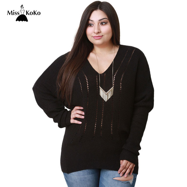 Plus Size Big Sweaters