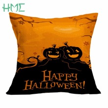 Halloween Pillowcase Pumpkin Cushion Cover Pillows For Festival Decor