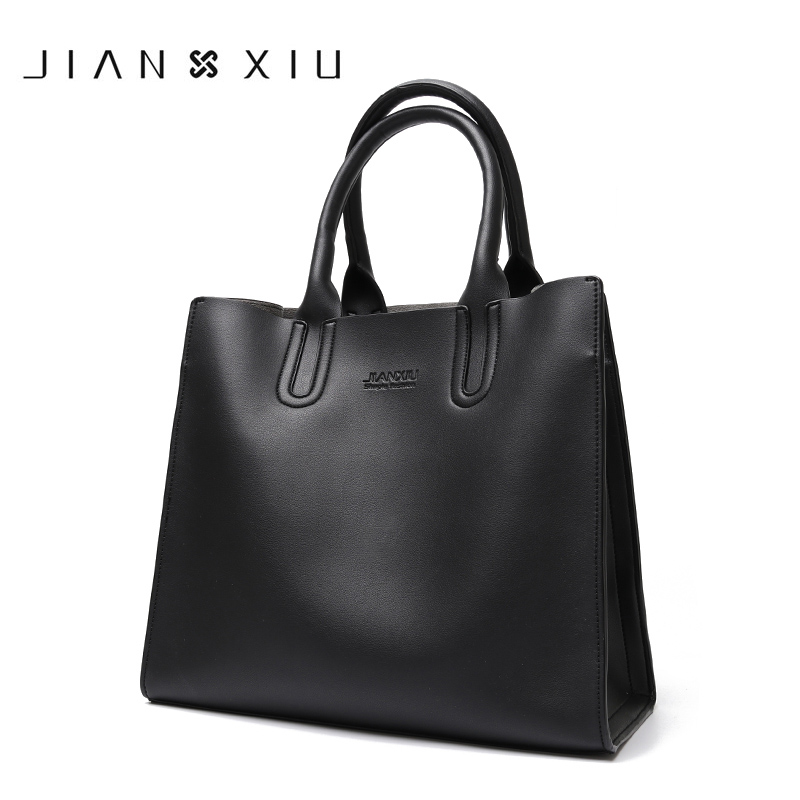 2018 Women Leather Handbags Messenger Bags Shoulder Bag Tote Handbag Bolsas Feminina Tassen Sac a Main Sliod Color Bolsos Muje women leather handbags messenger bags split handbag shoulder tote bag bolsas feminina sac a main 2017 vintage borse bolsos mujer href page 2