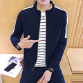 2016 Factory price man long-sleeved fashion male pants and navy hoody hoodies suit Sets men pants and jacket Large size 5XL