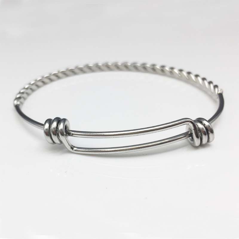 10pcs/lot China Fashion Bangle, Twist Wire Bangle Bracelet,Custom ...