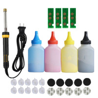 Refill toner Powder cartridge tool kit + 4 chip for samsung CLT 404S 404S SL C430W C430 C432 C480W FW C482 C483 FW Printer