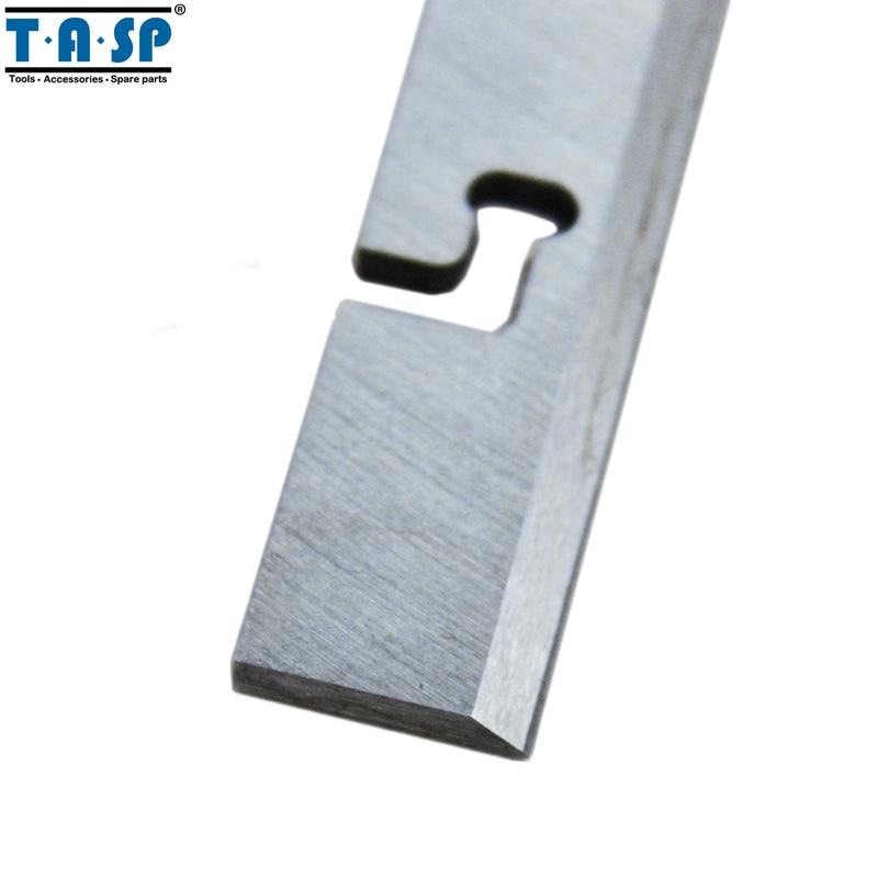 TASP 257 mm HSS-dikte schaafmes 257x18.2x3.2mm houtschaafmes voor - Onderdelen voor houtbewerkingsmachines - Foto 3