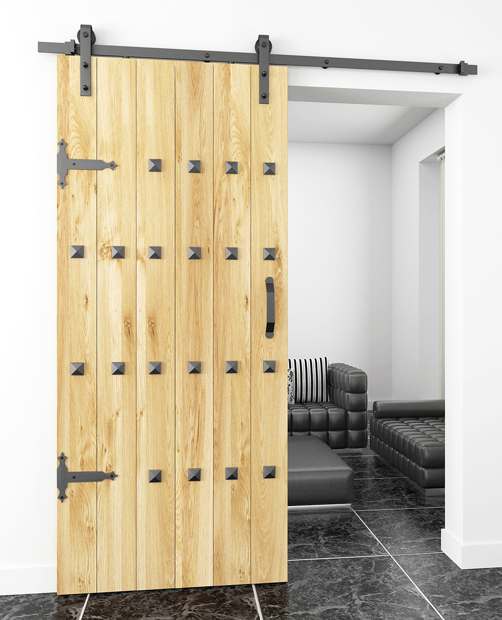 barns track decorative designs double ideas barn door sliding doors and decors