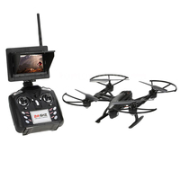 JXD 509G 2.4G DRONE 2.0MP HD Camera 4CH 6 Axis Gyro 5.8G FPV LCD Monitor 30C Lipo Battery Altitude High Hold Mode RC Quadcopter