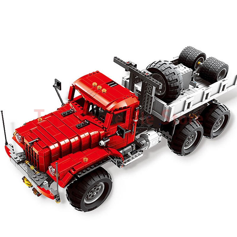 Xingbao 07401 MOC Technic Series The Big Rigs T14 Set Building Blocks Bricks Children Educational DIY Toy Model Gift Clone Lepin building blocks stick diy lepin toy plastic intelligence magic sticks toy creativity educational learningtoys for children gift page 3