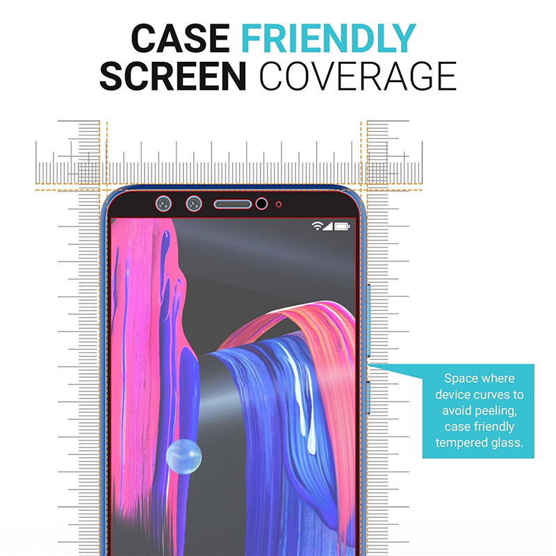 Image 3 - Honor 9 lite protective glass for honor 9 lite 9lite film tempered glass screen protector on honor 9lite 9 light safety glass-in Phone Screen Protectors from Cellphones & Telecommunications