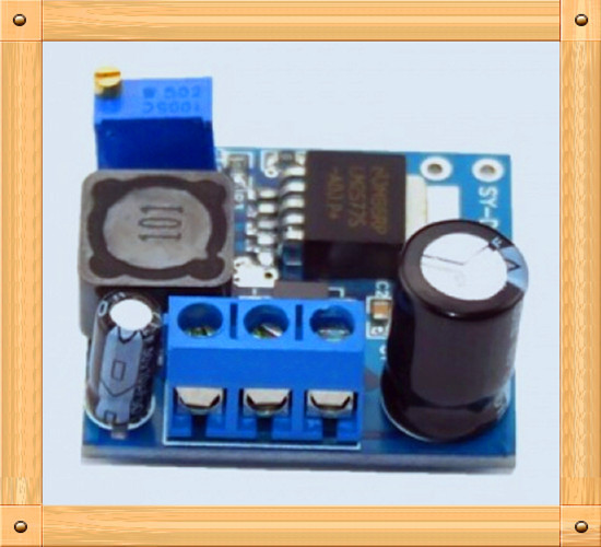 Free Shipping!!! DC-DC adjustable boost module 3.7 ~ 34V
