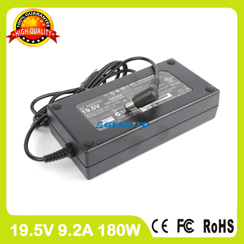 19.5V 9.2A 180W VGP-AC19V56 laptop ac power adapter charger for Sony Vaio VPCL22V1E VPCL22Z1E VPCL231FX VPCL234FX VPCL235FX
