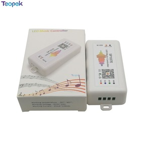 Image 5 - SP107E Led müzik denetleyicisi Bluetooth WS2812B WS2811 SK6812 UCS1903 LPD6803 WS2801 Led piksel şerit ışık DC5 24V