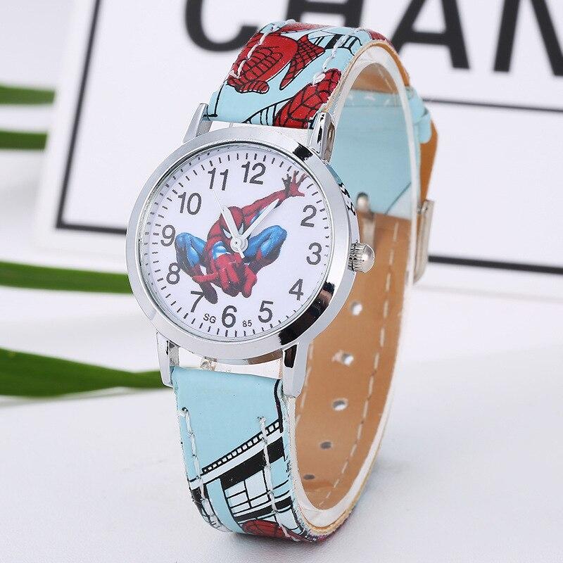 New Cartoon Cute Brand Leather Quartz Watch Children Kids Boys Girls Casual Fashion Bracelet Wrist Watches Clock