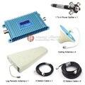 Gsm980 GSM 900 Mhz teléfono móvil amplificador de señal GSM repetidor de la señal con log-periódica antena / antena de techo / divisor de la energía