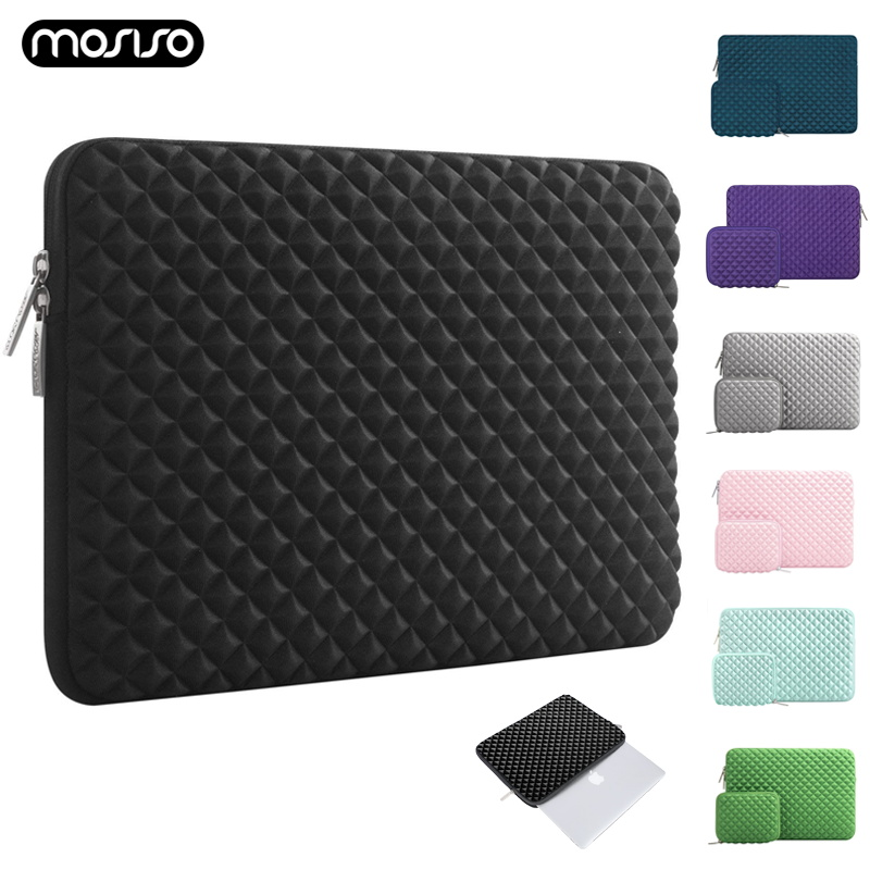 MOSISO Laptop Sleeve Bag 11 12 13.3 14 15 15.6 Inch Laptop Bag Case For Macbook Air 13 New Pro 13 15 Touch Bar Notebook Case Bag