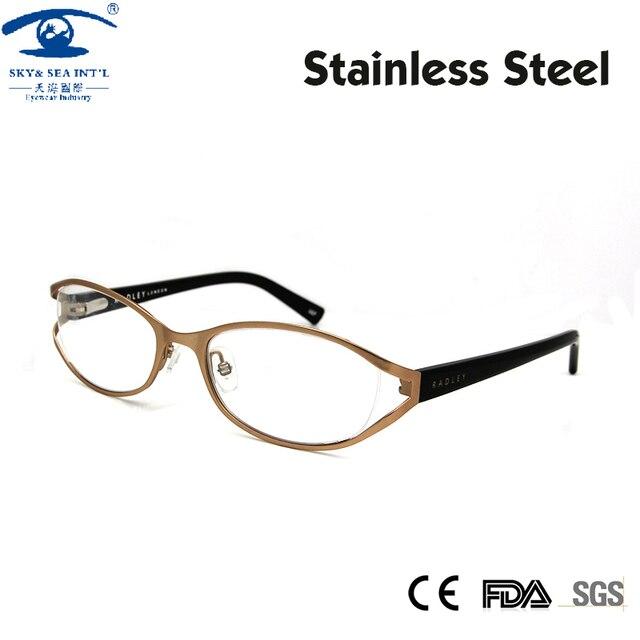 Новый роскошный женщин очки кадров близорукость очки модной кадров зрелища прозрачные линзы очки Rx