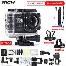 Action Camera Full HD 1080P Wifi Novatek96655 Waterproof 30M  Minn Video Camcorder Sport Camera+Chest Strap+Head Strap