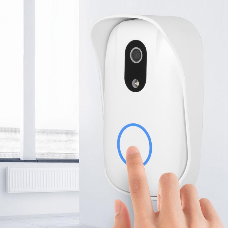 Smart Wireless Door Bell Doorbell RF WiFi Visual Door Bell ...