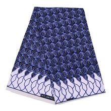 2019 Autumn and Winter African National Clothing Fabrics Geometrical Polyethylene Printed Clothes  african fabric by the yard