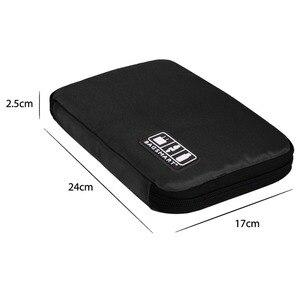 Image 5 - BAGSMART Acessórios Eletrônicos Saco de Embalagem Para O Carregador de Telefone Cabo Data USB Cartão SD Para Colocar Na Mala de Viagem Organizar