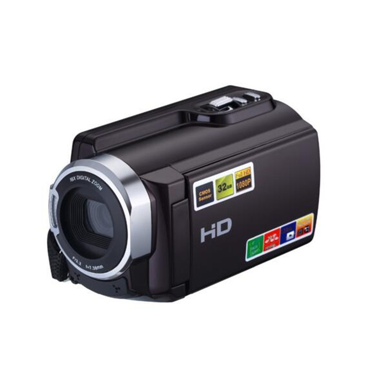 Marvie FHD 1080P Camcorders WIFI Connection 60FPS Night Vision External Battery 20MP 16X Digital Zoom 3 Inch Touch Screen Camera