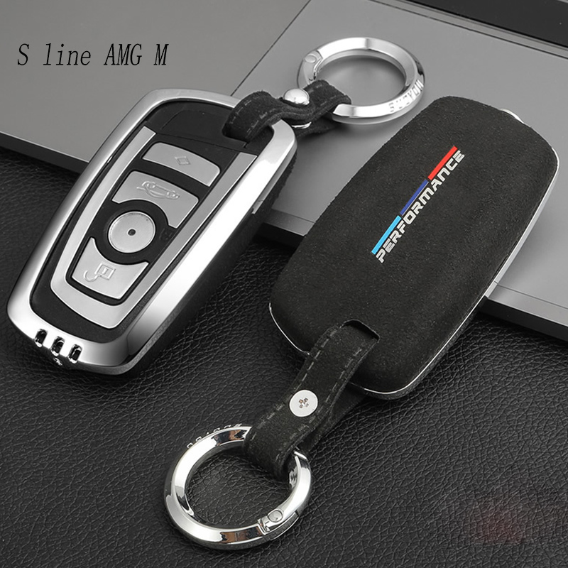 Estilo do carro chaveiros capa de proteção adesivos para bmw 3 4 5 6 7 série f10 f30 f34 x1 x3 x4 x5 x6 f25 f26 f15 f16 e84 g01 g38