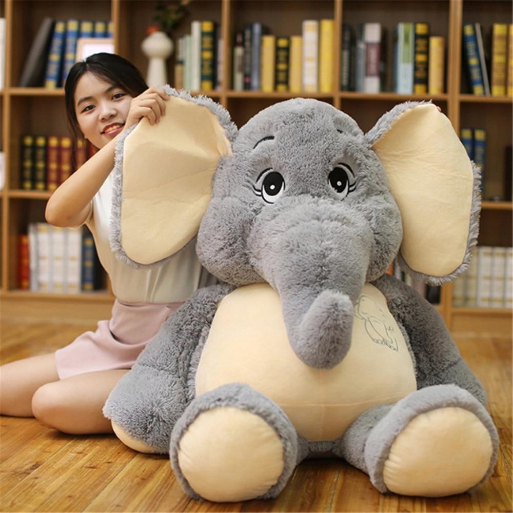 Fancytrader Cuddly Soft Animal Elephant Plush Toy Giant Stuffed