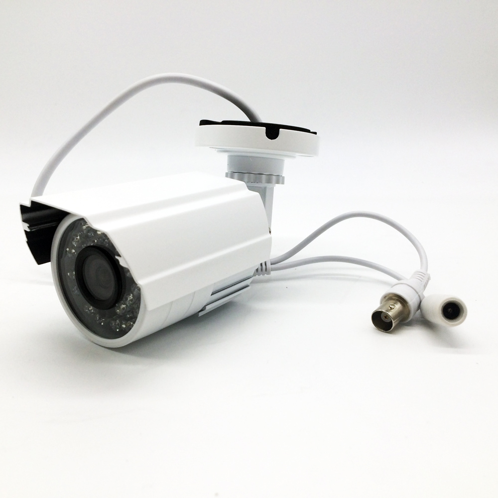 CCTV Camera CMOS 1000TVL IR Cut Filter 24 IR Day/Night Vision Home Security Video Bullet Outdoor Surveillance Camera Plug&Play smar home security 1000tvl surveillance camera 36 ir infrared leds with 3 6mm wide lens built in ir cut filter
