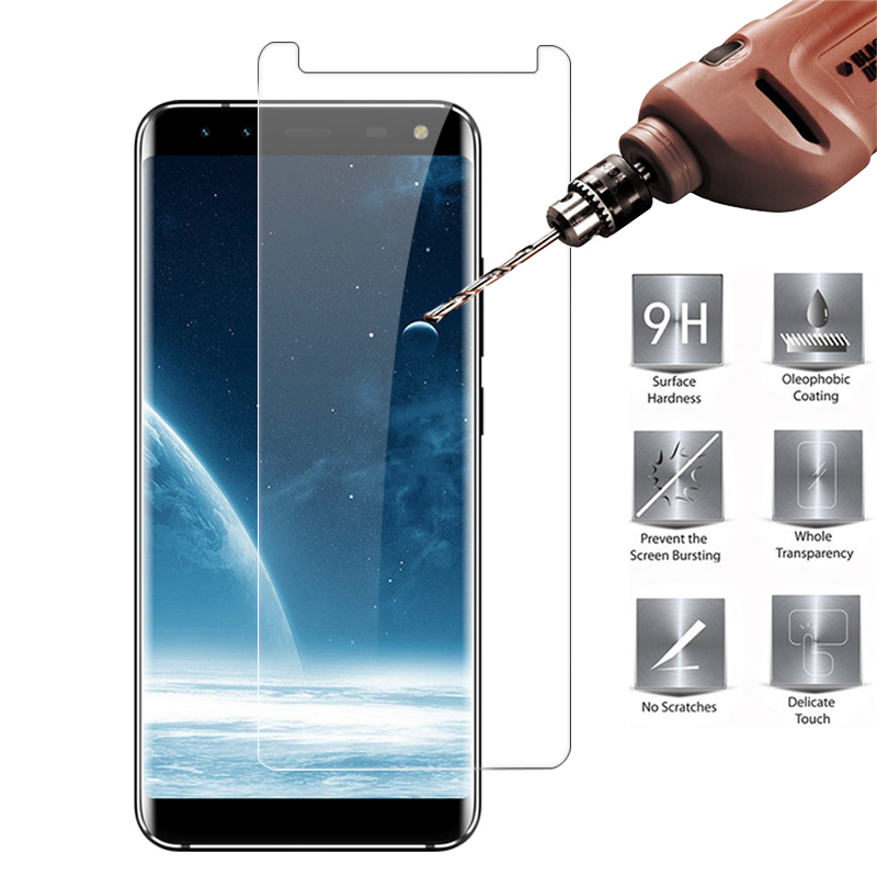For LEAGOO S8 Tempered Glass Premium 9H 2.5D Slim HD Clear Protective Film Explosion-proof For LEAGOO S8 Screen Protector