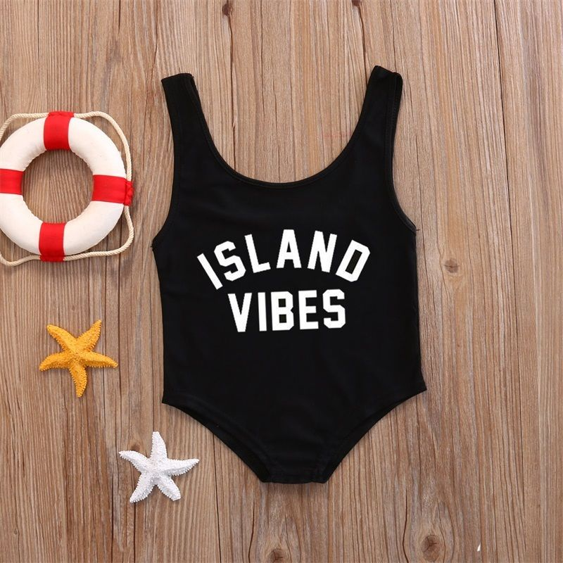 2018 Summer Cute Princess Girls Sleeveless Dress Kids Baby Girls One-Piece Swimsuit Swimwear Bathing Suit Beachwear