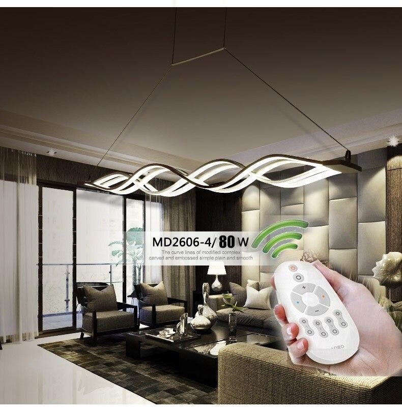 120 cm 100 cm plafonniers modernes ont mené des lumières pour l'éclairage à la maison Lustre lampe De Plafon De Techo AC85-260V Lampadari Luz