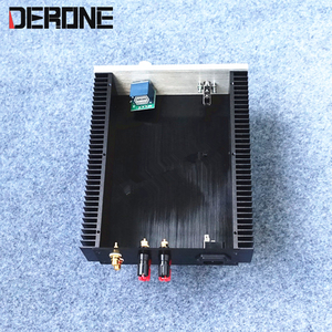 Image 3 - power amplifier case shell amp chassis aluminum with konb RCA binding post feet audio  diy box
