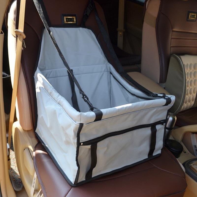 Pawstrip 5 Colors Dog Car Seat Cover Folding Portable Dog Bag Pet Carrier Car Travel Saf ...
