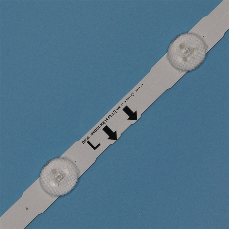 Image 2 - 7 Lamps LED Backlight Strip For Samsung UA32H5570AU UA32J5100AK UA32J5500AW UA32K5005AJ UA32J5570AU Bars Kit Television LED Band-in Computer Cables & Connectors from Computer & Office