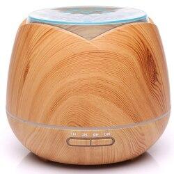 7 zmiana koloru światła Led ultradźwiękowy nawilżacz powietrza 400Ml maszyna do aromaterapii Aroma dyfuzor olejków eterycznych do pracy w domu Yo w Nawilżacze powietrza od AGD na