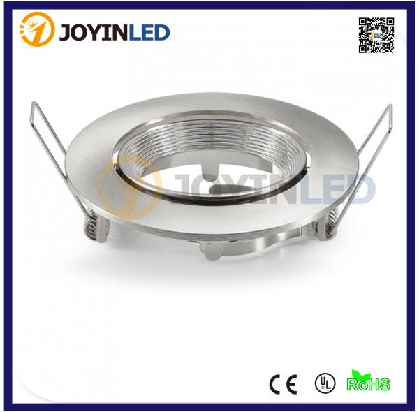 Sand Nickel Aluminum LED Ceiling Lamp Holder GU10 MR16 Lighting Ceiling Spot Light LED Spotlight Lamp