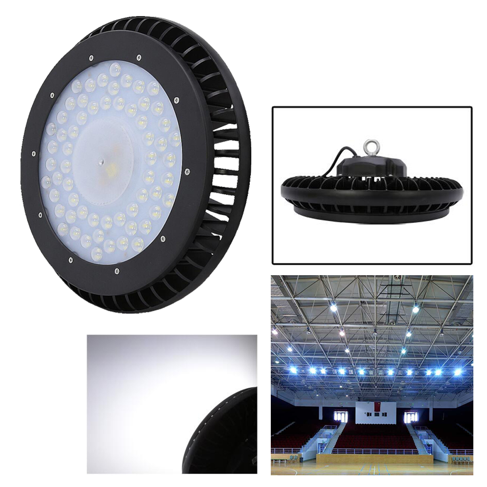 LED highbay Light 200W LED UFO High Bay Lamp Industrial Factory Garage Supermarket Lighting warehouse High Brightness