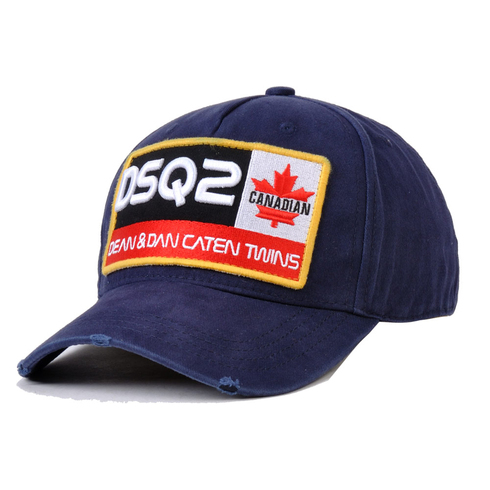 DSQICOND2 Brand 2019 DSQ2 letters Casquette Hats Embroidery Dad Hip Hop Baseball Cap DSQ Black Snapback Hat Cap for Man Woman in Men 39 s Baseball Caps from Apparel Accessories