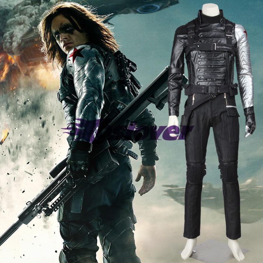 Bucky Barnes Costume Captain America 2 Winter Soldier ...